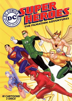 DC Super Heroes: The Filmation Adventures (2-disc) (DVD) - Klik her for at se billedet i stor st�rrelse.
