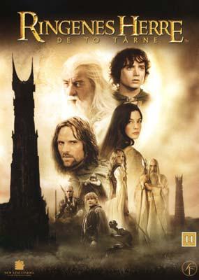 Ringenes Herre:   De to  tårne (Movie-only) (DVD) - Klik her for at se billedet i stor størrelse.