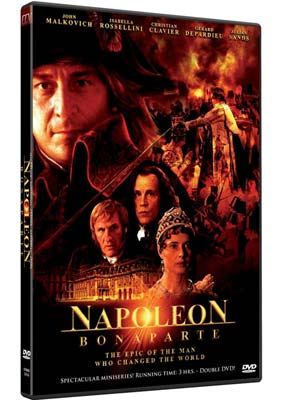 3e9c122803b Napoleon Bonaparte (Christian Clavier) (2-disc) (DVD) - Laserdisken ...
