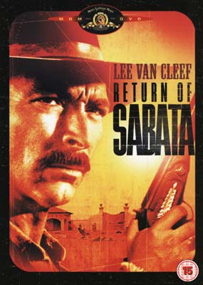 Return of Sabata, The  (DVD) - Klik her for at se billedet i stor st�rrelse.