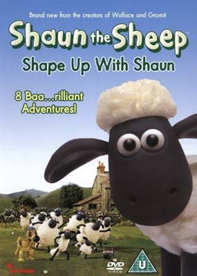 Shaun the Sheep: Shape Up with Shaun  (DVD) - Klik her for at se billedet i stor størrelse.