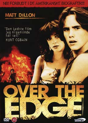 Over the Edge (Matt Dillon)  (DVD) - Klik her for at se billedet i stor st�rrelse.