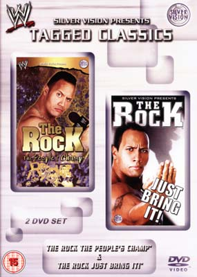 WWF: The Rock - The People's Champ & Just Bring It! (2-disc) (DVD) - Klik her for at se billedet i stor st�rrelse.