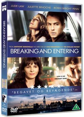 Breaking and Entering  (DVD) - Klik her for at se billedet i stor størrelse.