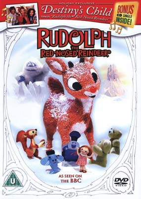 Rudolph, the Red-Nosed Reindeer (DVD & CD) (DVD) - Klik her for at se billedet i stor st�rrelse.