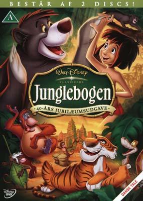 Junglebogen: 40 års jubilæumsudgave (2-disc) (DVD) - Laserdisken.dk - salg  af DVD og Blu-ray film.