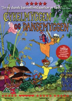 Cykelmyggen og Dansemyggen  (DVD) - Klik her for at se billedet i stor størrelse.