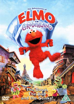 Adventures of Elmo in Grouchland, The  (DVD) - Klik her for at se billedet i stor st�rrelse.