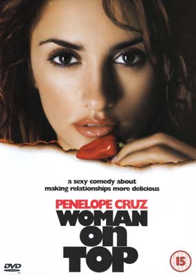 Woman on Top  (DVD) - Klik her for at se billedet i stor st�rrelse.