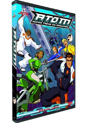 A.T.O.M.: Alpha Teens On Machines, Volume 4  (DVD) - Klik her for at se billedet i stor st�rrelse.