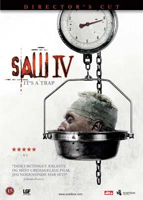 Saw  IV (Director's Cut) (DVD) - Klik her for at se billedet i stor størrelse.