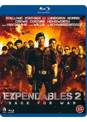 Expendables 2,       The (Blu-ray) (BD) - Klik her for at se billedet i stor størrelse.