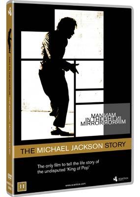 Man in the Mirror: The Michael Jackson Story  (DVD) - Klik her for at se billedet i stor størrelse.
