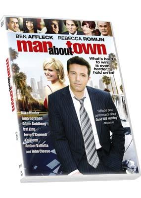 Man About Town  (DVD) - Klik her for at se billedet i stor størrelse.