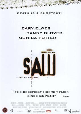 Saw (R-rated) (DVD) - Klik her for at se billedet i stor størrelse.