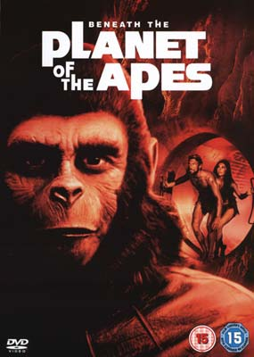 Beneath the Planet of the Apes  (DVD) - Klik her for at se billedet i stor størrelse.