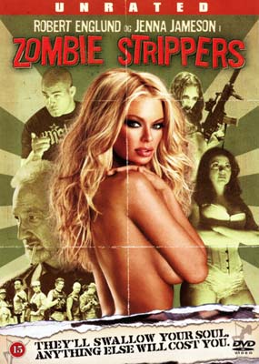 Zombie Strippers!  (Unrated) (DVD) - Klik her for at se billedet i stor st�rrelse.