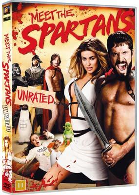 Meet the Spartans  (DVD) - Klik her for at se billedet i stor størrelse.