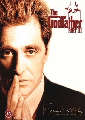Godfather, The - Part III: The Coppola Restoration  (DVD) - Klik her for at se billedet i stor størrelse.