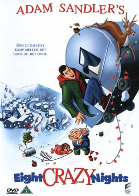 Adam Sandler's Eight Crazy Nights   (DVD) - Klik her for at se billedet i stor størrelse.