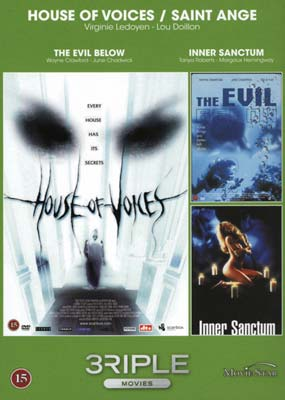 Vol.  50: House of Voices / The Evil Below / Inner Sanctum  (DVD) - Klik her for at se billedet i stor st�rrelse.