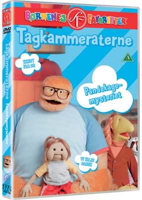 Tagkammeraterne: Pandekagemysteriet  (DVD) - Klik her for at se billedet i stor størrelse.