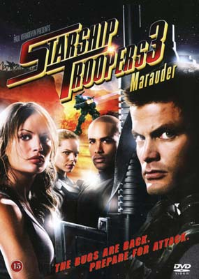 Starship Troopers 3: Marauder  (DVD) - Klik her for at se billedet i stor størrelse.