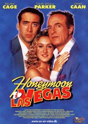 Honeymoon i Las Vegas  (DVD) - Klik her for at se billedet i stor størrelse.