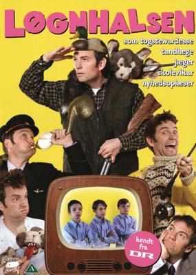 Løgnhalsen 2: som togstewardesse, tandlæge, jæger, skolevikar, nyhedsoplæser  (DVD) - Klik her for at se billedet i stor størrelse.