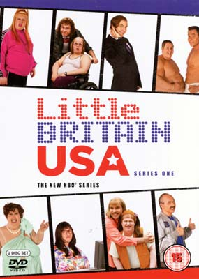 Little Britain USA: Season 1 (2-disc) (DVD) - Klik her for at se billedet i stor st�rrelse.