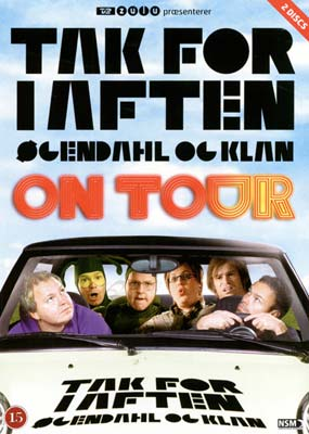 Tak for i aften - On tour movie