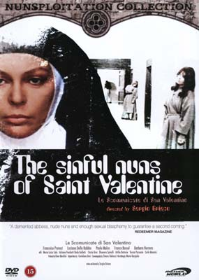 Sinful nuns of Saint Valentine, The (Uncut) (DVD) - Klik her for at se billedet i stor st�rrelse.