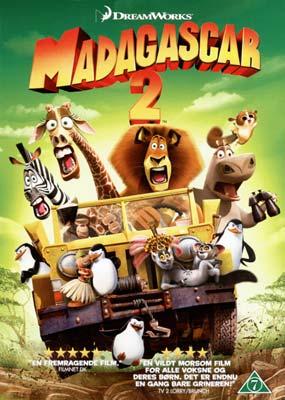 Madagascar 2  (DVD) - Klik her for at se billedet i stor størrelse.