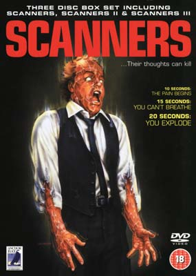 Scanners Collection (3-pack) (DVD) - Klik her for at se billedet i stor st�rrelse.