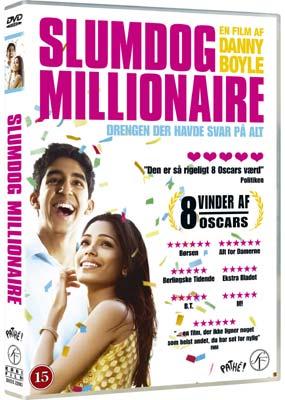 Slumdog Millionaire  (DVD) - Klik her for at se billedet i stor størrelse.