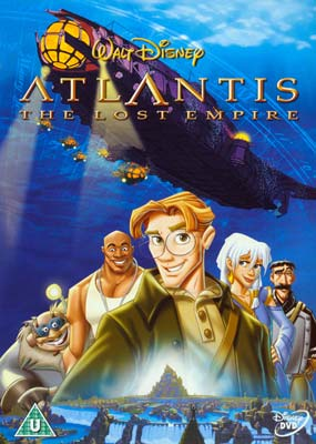 Atlantis:  The Lost Empire (Widescreen) (DVD) - Klik her for at se billedet i stor størrelse.