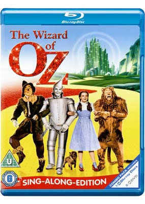 Wizard of Oz, The:   Sing-Along (Blu-ray & DVD) (BD) - Klik her for at se billedet i stor st�rrelse.