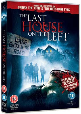Last House on the Left, The  (DVD) - Klik her for at se billedet i stor størrelse.