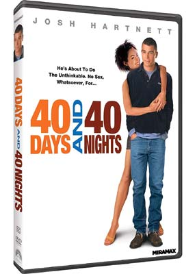 40 Days and 40 Nights  (DVD) - Klik her for at se billedet i stor størrelse.