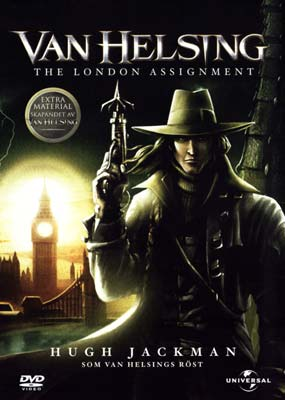 Van Helsing: The London Assignment (Animation)  (DVD) - Klik her for at se billedet i stor st�rrelse.