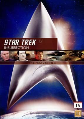 Star Trek IX:            Insurrection  (DVD) - Klik her for at se billedet i stor størrelse.