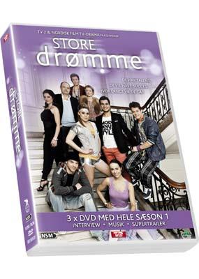 Store drømme: Sæson 1 (3-disc) (DVD) - Klik her for at se billedet i stor størrelse.