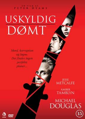 Uskyldig dømt  (DVD) - Klik her for at se billedet i stor størrelse.