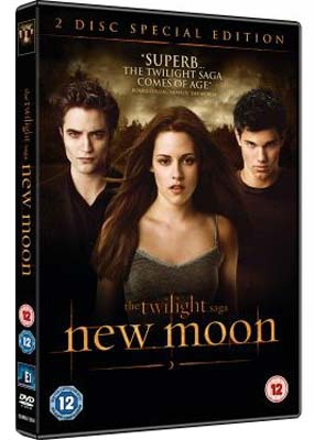 Twilight Saga, The: New              Moon (2-disc) (DVD) - Klik her for at se billedet i stor størrelse.