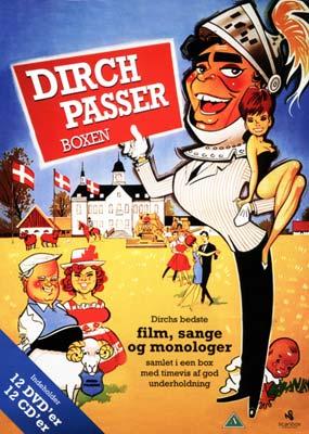Dirch Passer Boxen (12 film) (DVD) - Laserdisken.dk - salg af DVD og Blu-ray film.