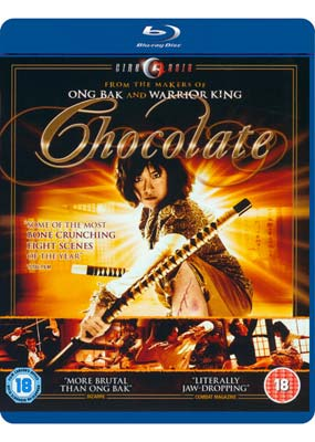 Chocolate (aka Zen - The Warrior   Within) (Blu-ray) (BD) - Klik her for at se billedet i stor størrelse.