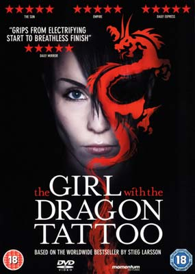 Girl with the Dragon Tattoo,    The  (DVD) - Klik her for at se billedet i stor størrelse.