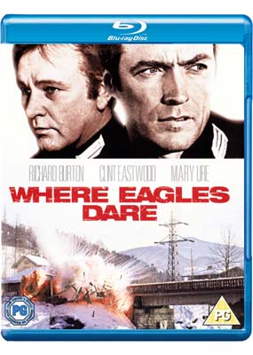 Where Eagles Dare (Blu-ray) (BD) - Klik her for at se billedet i stor st�rrelse.