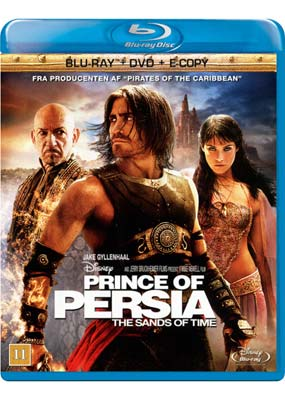 Prince of Persia: The   Sands of Time (Blu-ray & DVD) (BD) - Klik her for at se billedet i stor st�rrelse.