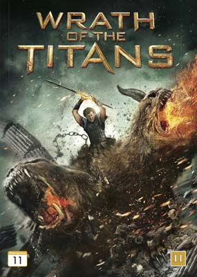 Wrath of the Titans  (DVD) - Klik her for at se billedet i stor st�rrelse.